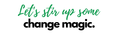 Let's stir up some change magic! Maya Frost offers affordable change coaching for creative women around the world.